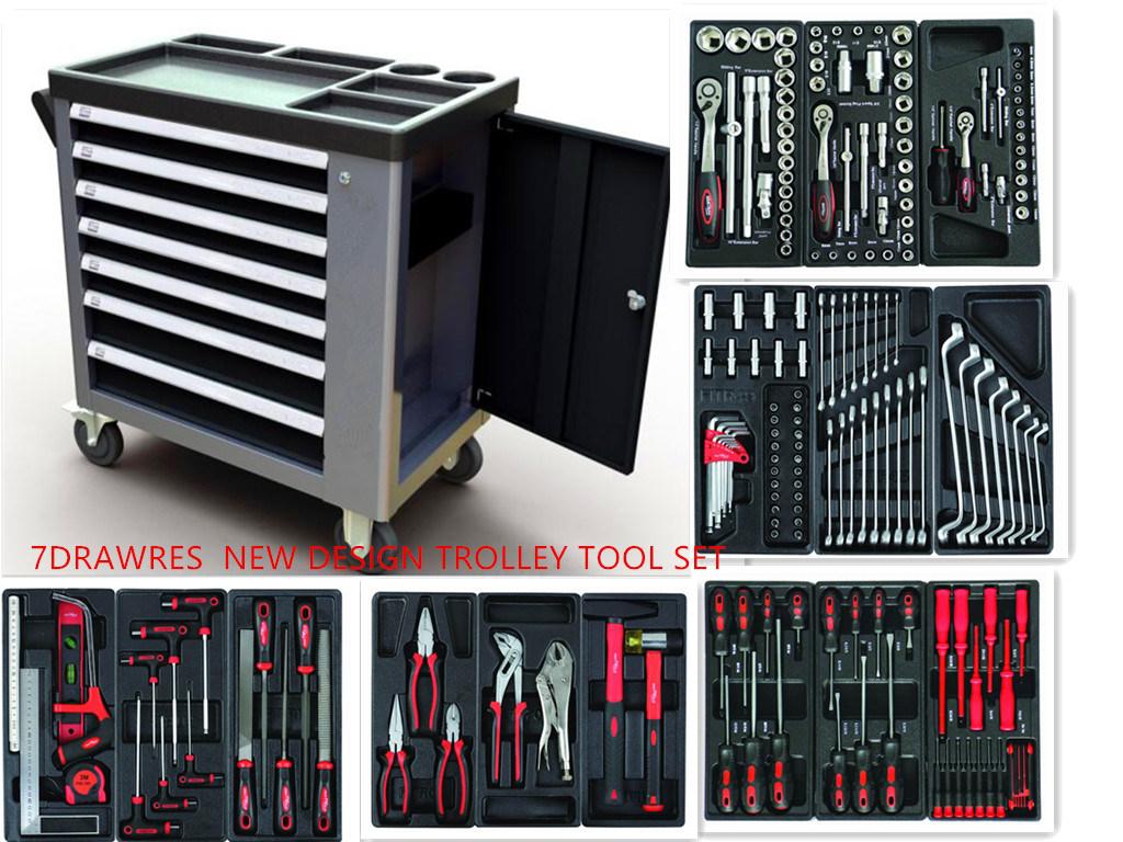 Professional 228PCS Heavy Duty Trolley Tool Set (FY228A2)