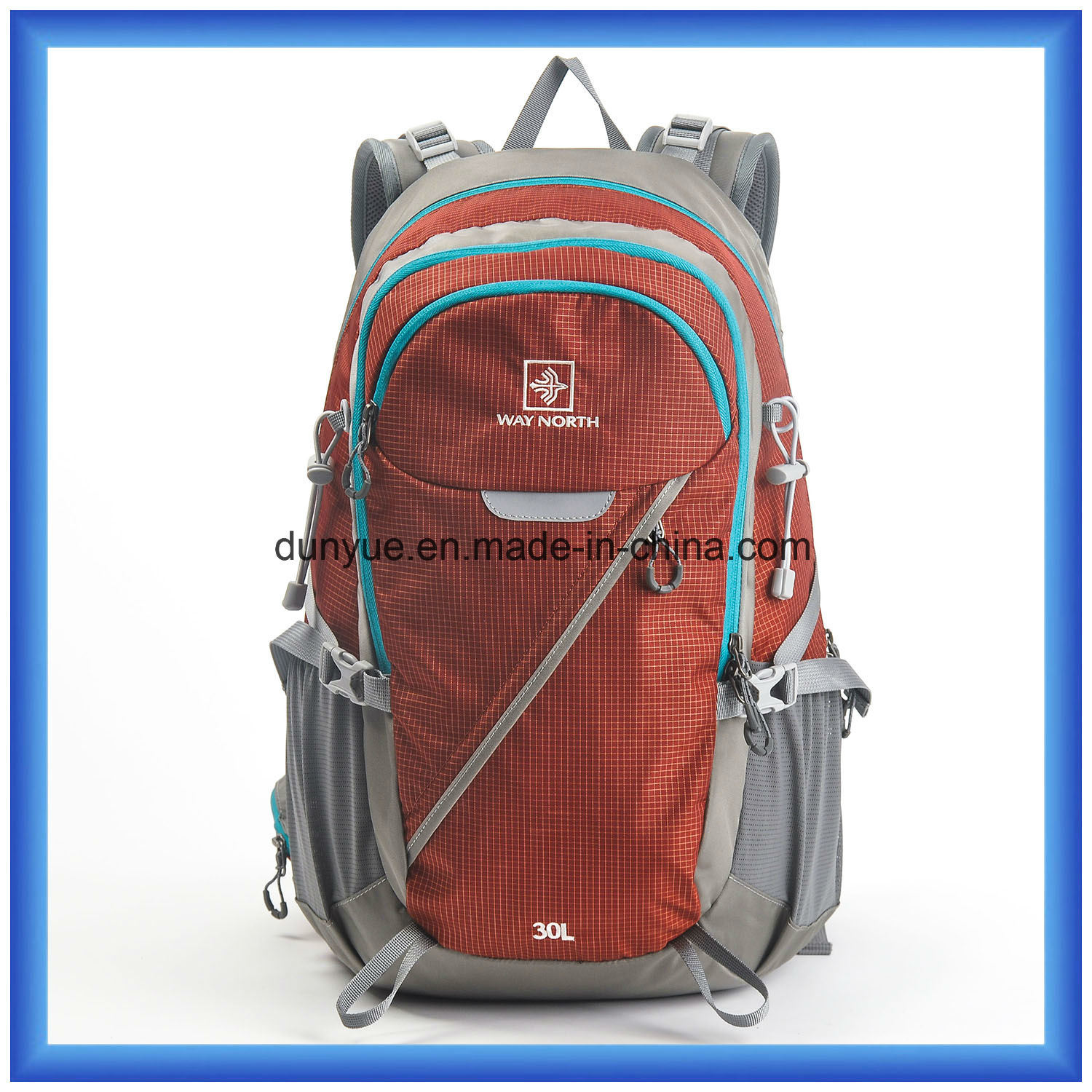 Hot Sale Customized Waterproof Travel Backpack, Nylon Outdoor Sports Backpack Bag, Practical Climbing Hiking Backpack