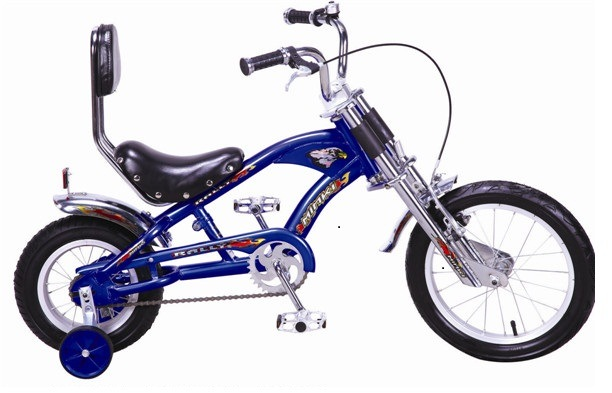 China 12 Kids Fat Tire Harley Bike Chopper Bike With Kt Coaster