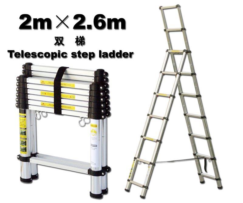 Telescoping Step Ladder : China telescopic step ladder al