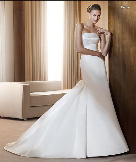 Gorgeous Wedding Dress Bridal Gown Color Free LB1963