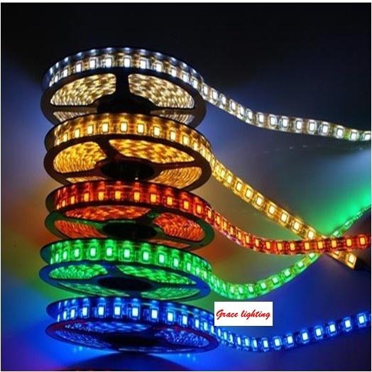 High Brightness 120LEDs 9.6W/M Flexible LED Strips (G-SMD3528-120-12V)
