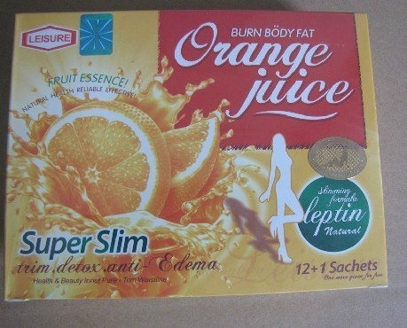 Leisure 18 Slimming Orange Juice Weight Loss