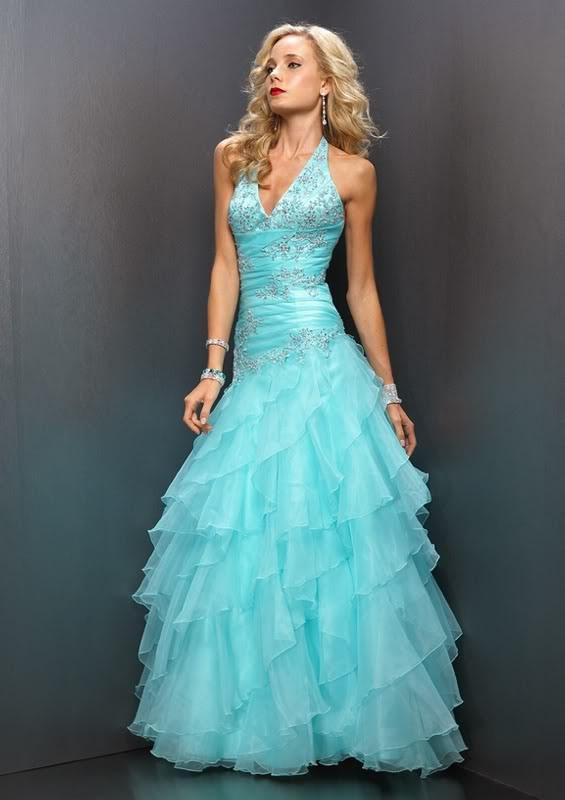 Pretty Blue Prom Dresses - Boutique Prom Dresses