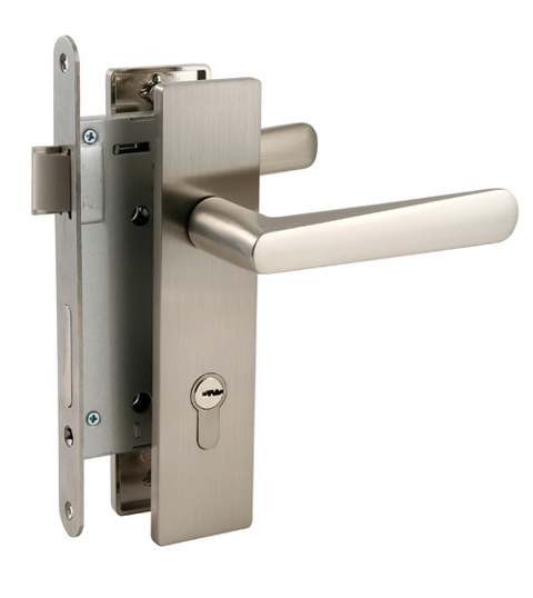 Security doors security door locks and handles for Door handle with lock