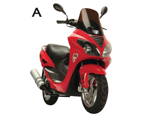 150cc Gas Scooter Motorcycle Style - Moped Scooter - Wholesale