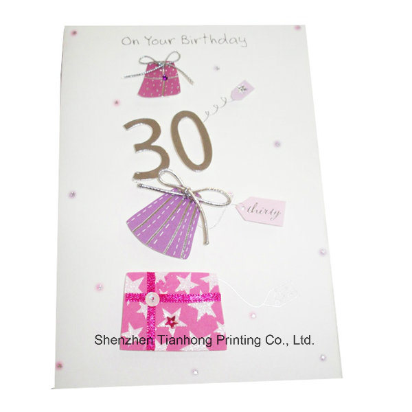 Card Printing Services, Greeting Cards (OEM-CR010)