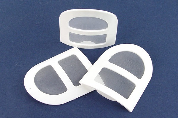 in-Line Molded Plastic Filters for Liquid Filtration and Dust Collection