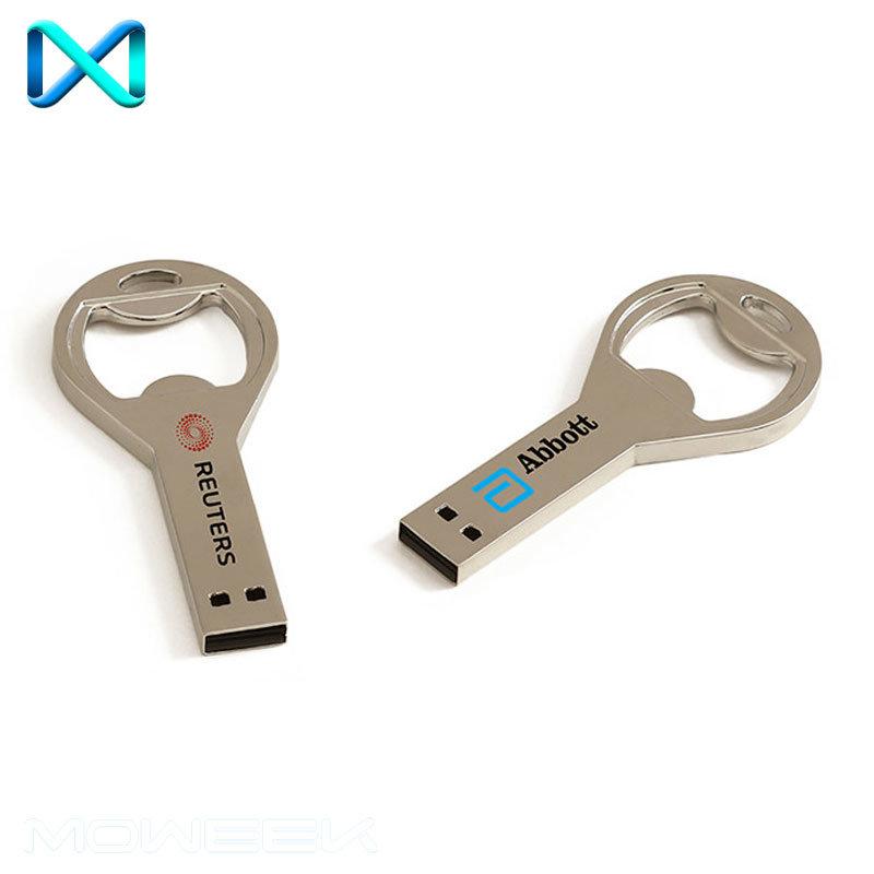 Metal Bottle Opener USB Stick Flash Drive