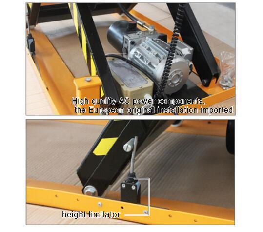 Heavy Duty Standard Electric Scissor Lift Table