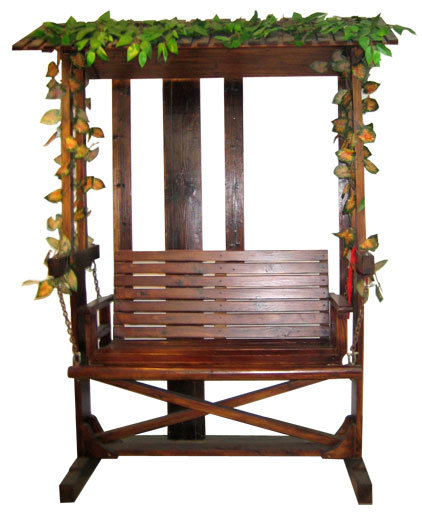 china wooden outdoor swing chair glf 430 china wooden