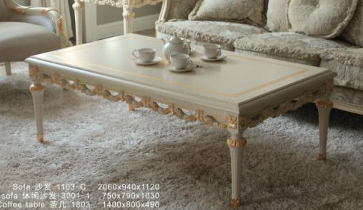 Classic Furniture for Solid Wood Coffee Table Suitable for Living Room Furniture (BA-1809)