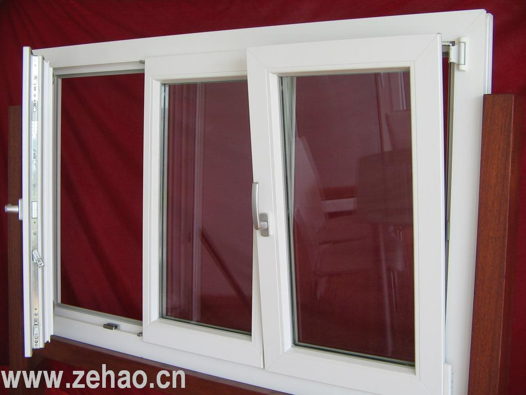 Pvc Windows And Doors : China pvc windows upvc turn and tilt