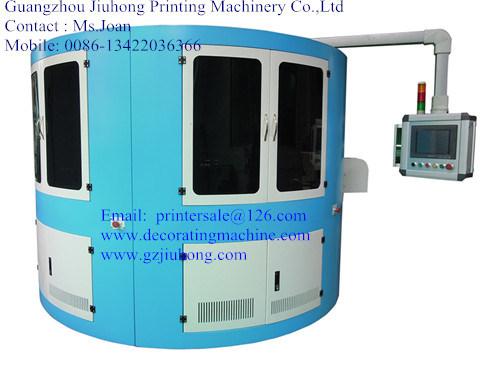 Full Servo 3 Color Rotary Screen Printing Machine