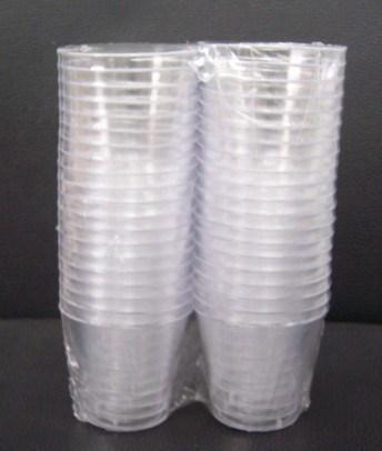 China 1oz Plastic Glass Shot Glasses Hard Plastic Mini