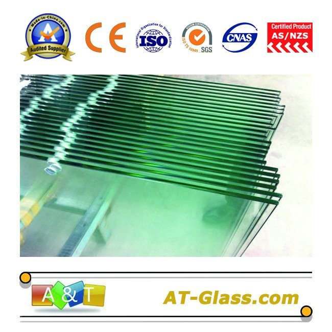 3-19mm Tempered Glass/Tonughened Glas for Building