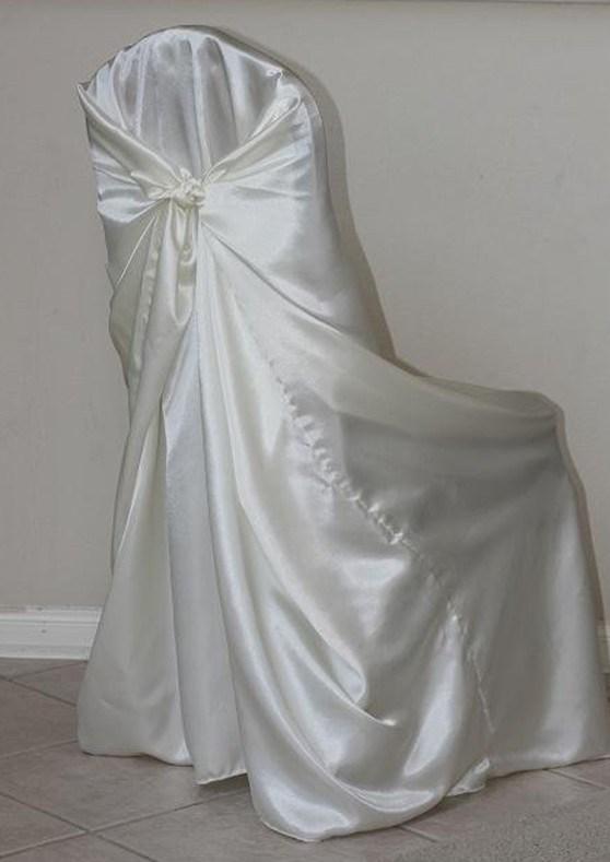 China Wedding Satin Pillowcase Universal Chair Cover
