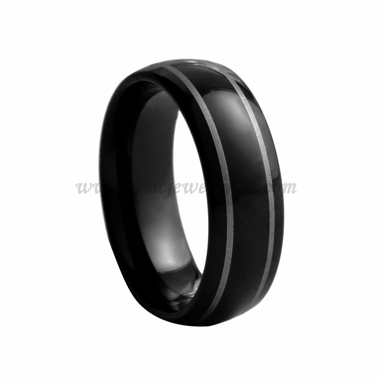 Черное кольцо фото 8