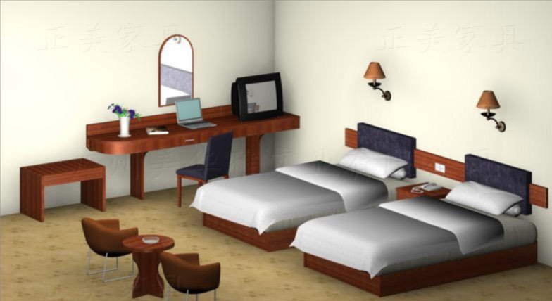 China Hotel Bedroom Furniture Ht020 China Hotel