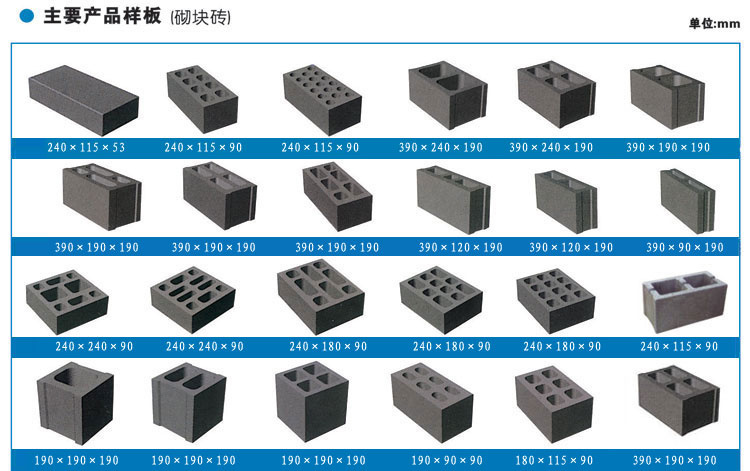 Concrete Blocks (Hollow and Solid Bricks)