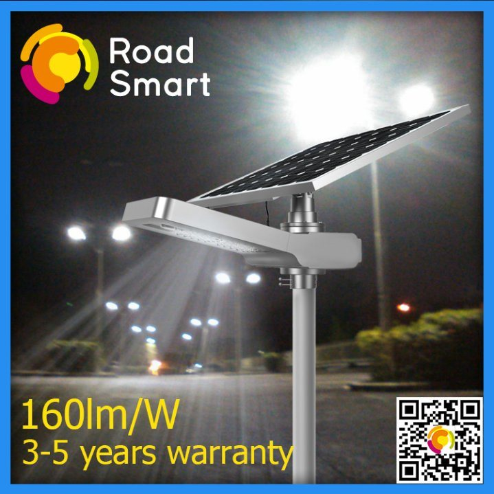 Integrated 20W LED Solar Garden Street Light with Solar Panel