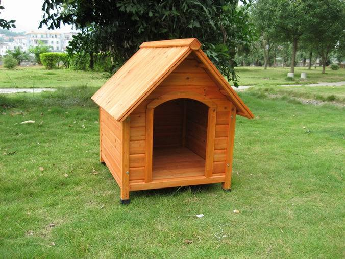 China Wooden Dog House Pet Bed CL 608L China Wooden