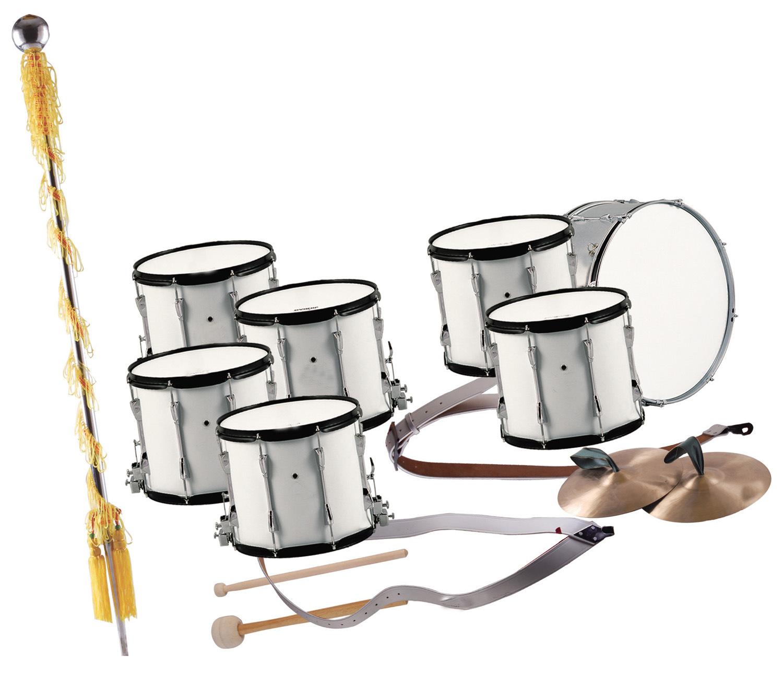 7-PC Marching Drum Set
