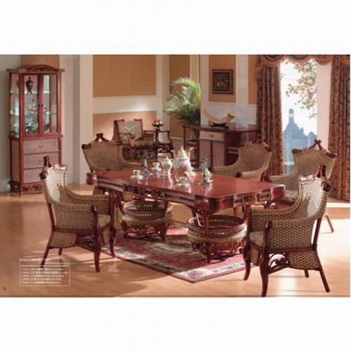 china rattan furniture dining room set tw 901 china rattan rattan