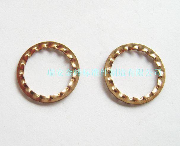 Copper Lock Washer : China phosphor bronze lock washer serrated