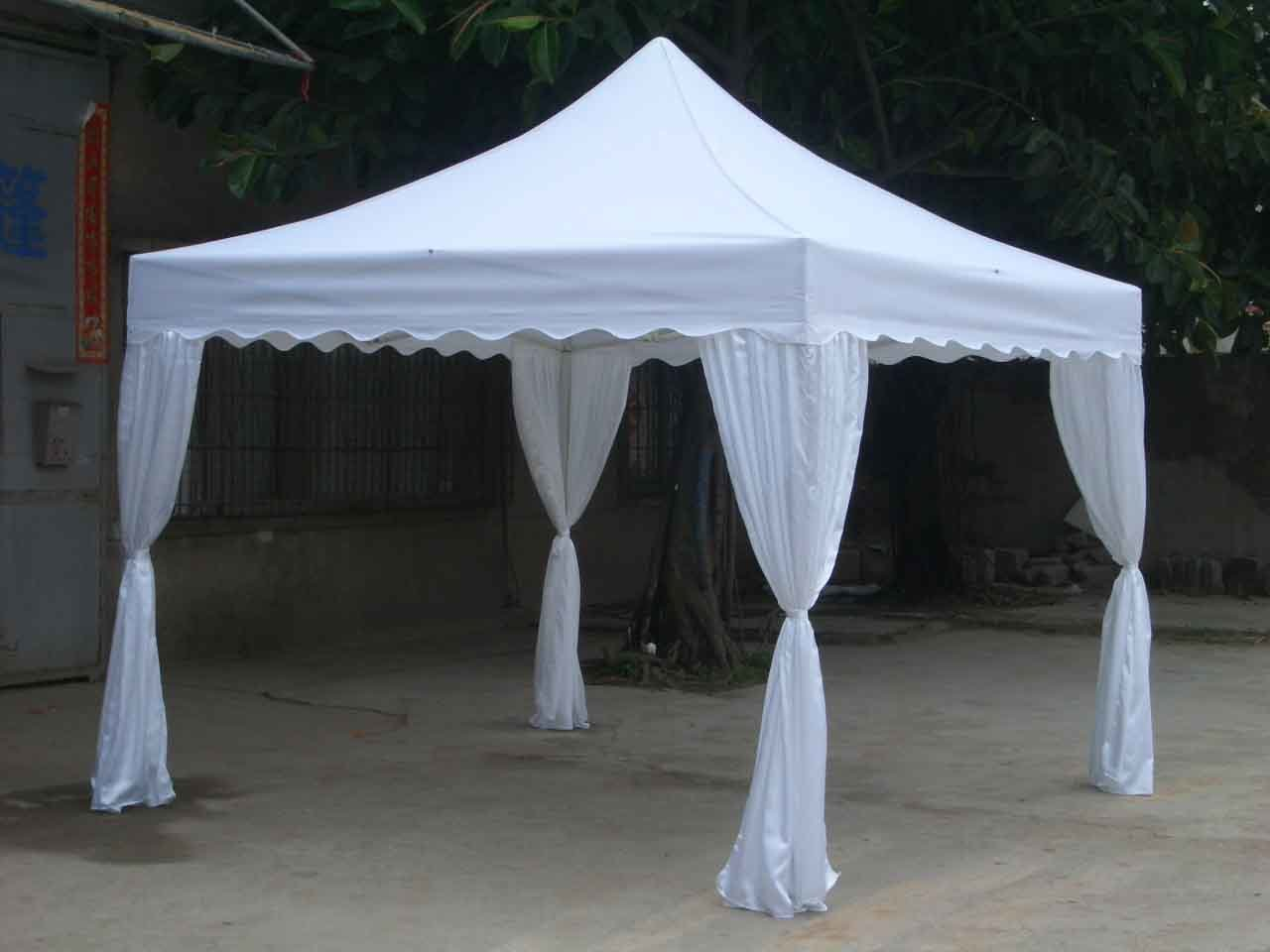 how to put up a party tent