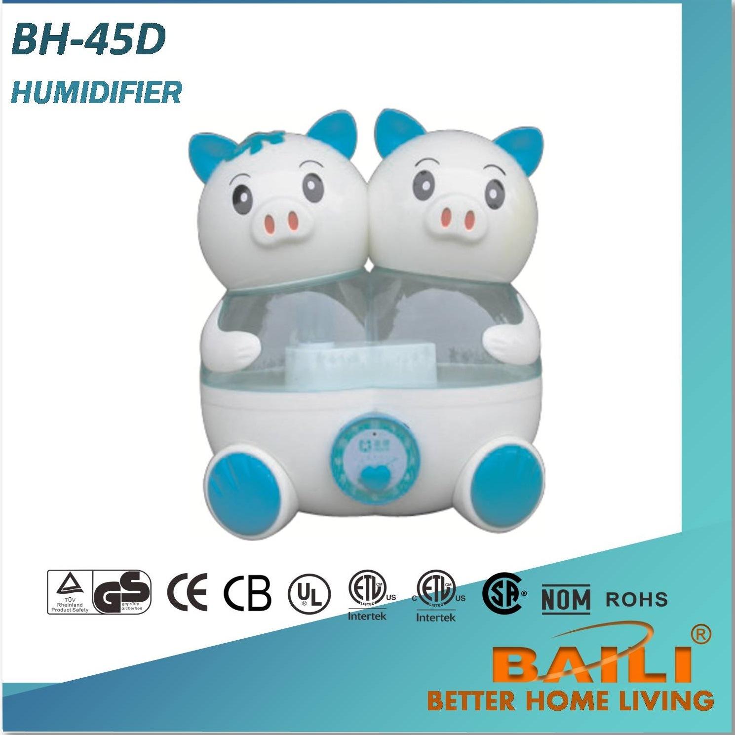 Baili Hot Sales Ultrasonic Humidifier, Fresh The Air