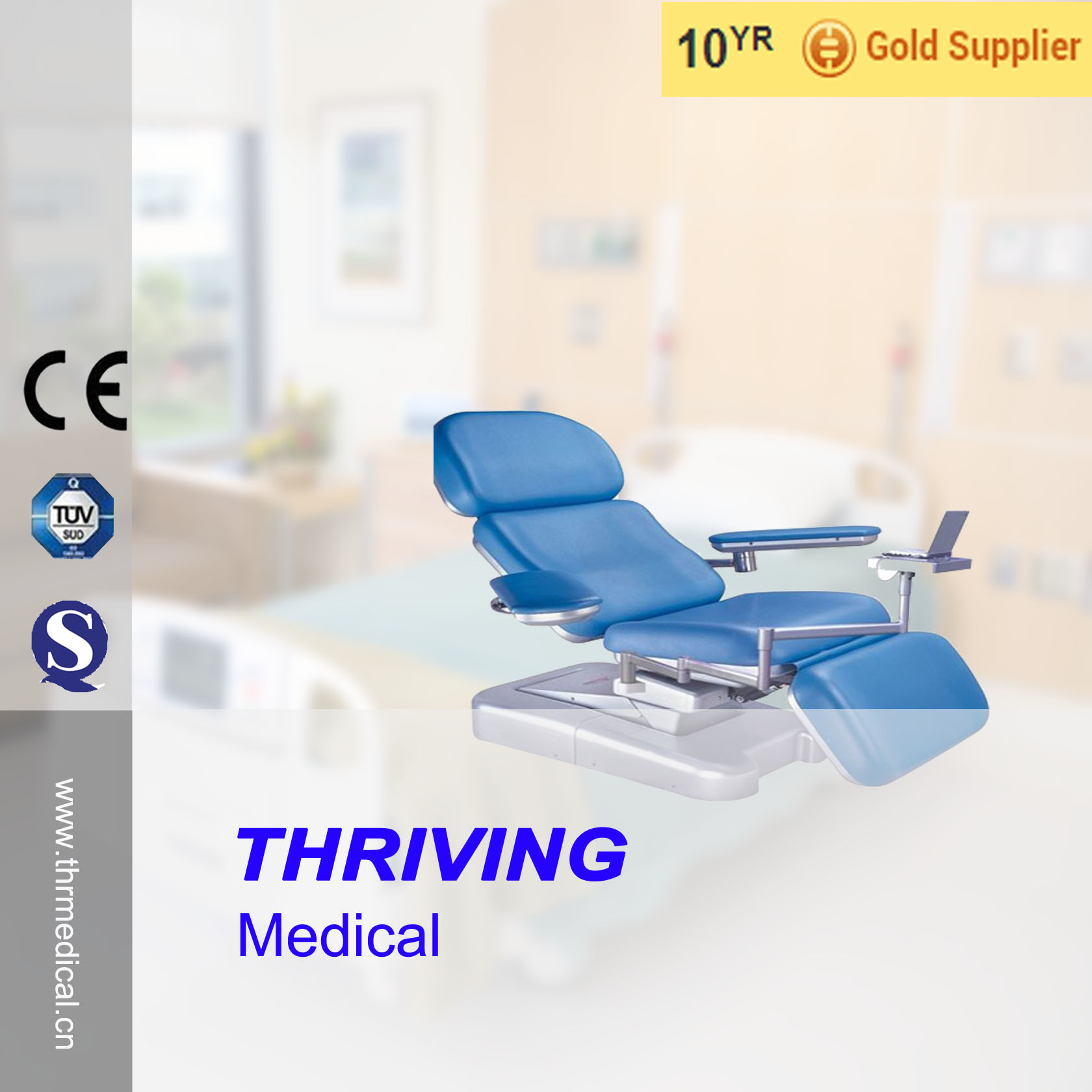 China Electric Hospital Blood Donation Chair THR XD101 China