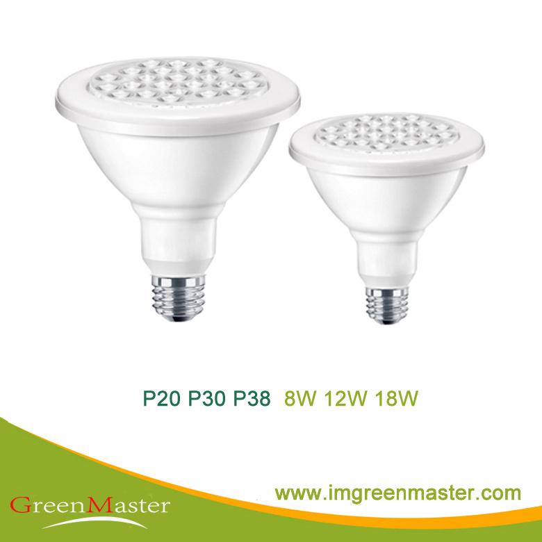 P20/30/38 E27 8W 12W 18W LED Spot Light