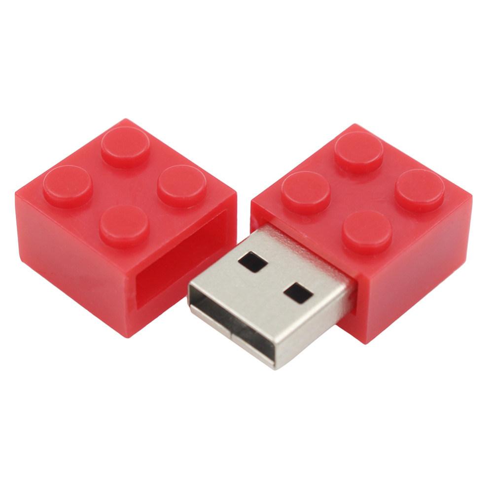 16GB USB Pen Drive Toy Bricks U Disk Flash Memory
