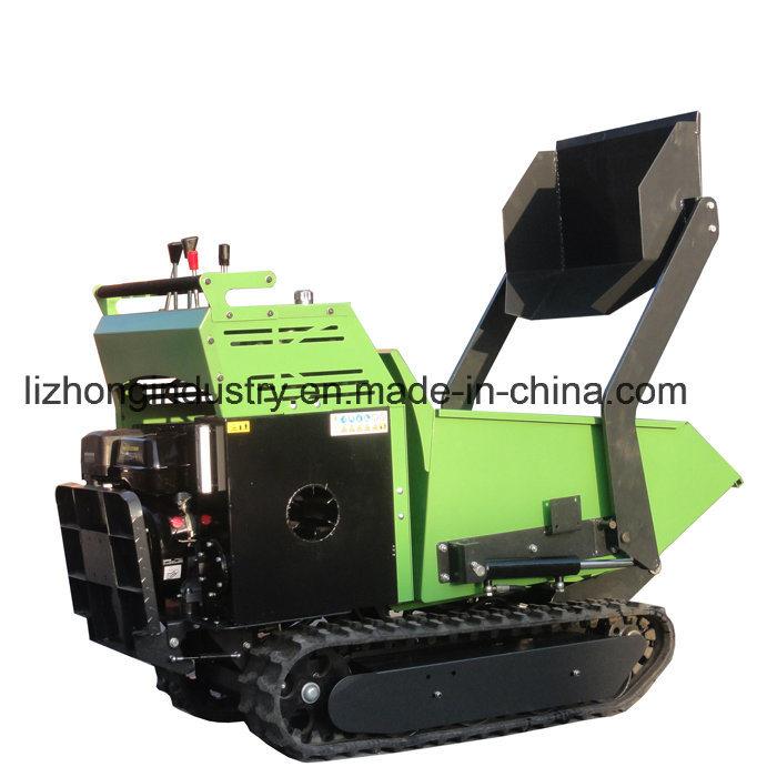 All hydraulic Self Loading Mini Dumper; Mini Transporter; Crawler Dumper