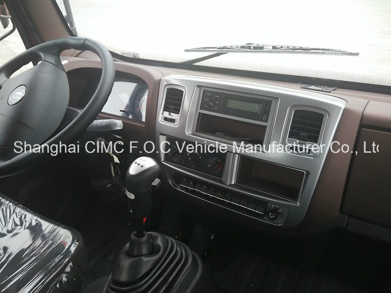 Sinotruk Sino Truck Cdw 757series 4X2 Automatic Small Light Duty Mini Cargo Tipping Dumper Lorry Tipper Dump Truck