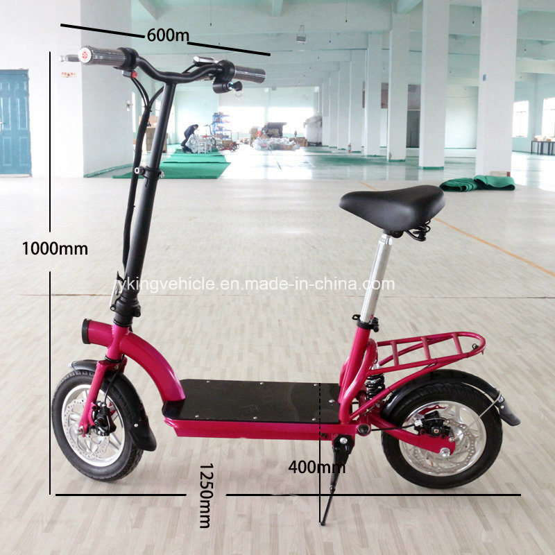 2016 Lithium Battery Folding Scooter City Electric Bike (ES-1202)