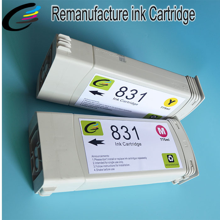 Recycled Genuine Original Cartridge for HP Latex 300 310 330 360 370 Printer with HP Latex Ink 831