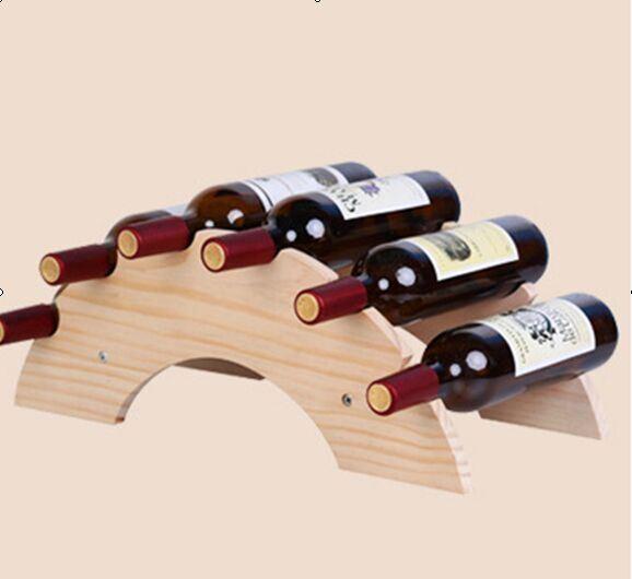 Wine Display Storage Holder Wood Wine Rack