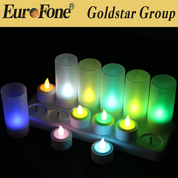 2016 christmas Flameless Moving Wick LED Candle for Sale