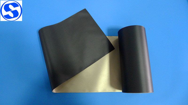 One Side Black Plain Weave Nickel Copper Conductive Fabric