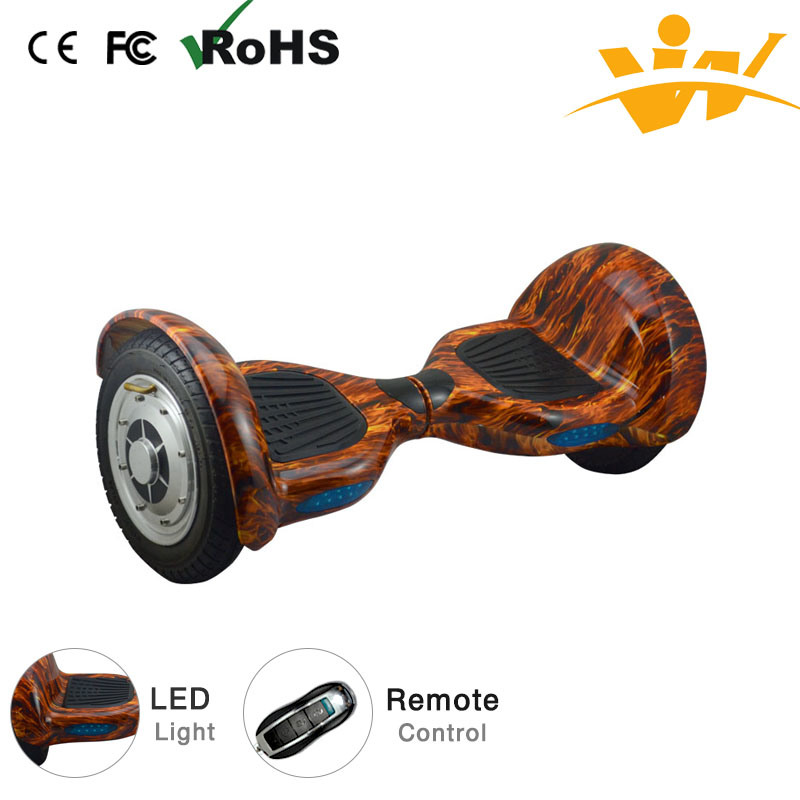 Two Wheel 10 Inches Smart Balance Scooter Electric Scooter Hover Board