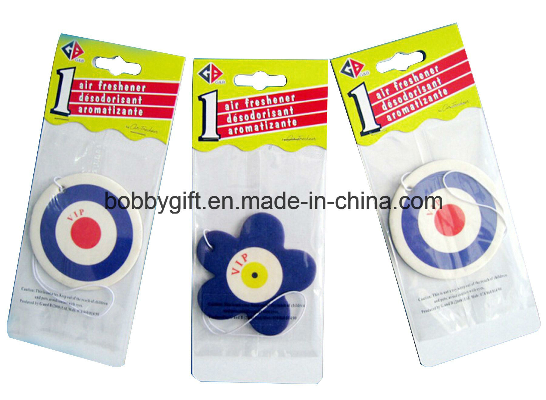 Factory Price Paper Air Freshener for Car