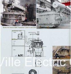 Electric Arc Furnace Transformer /Power Supply Transformer Power Distribution Transmission