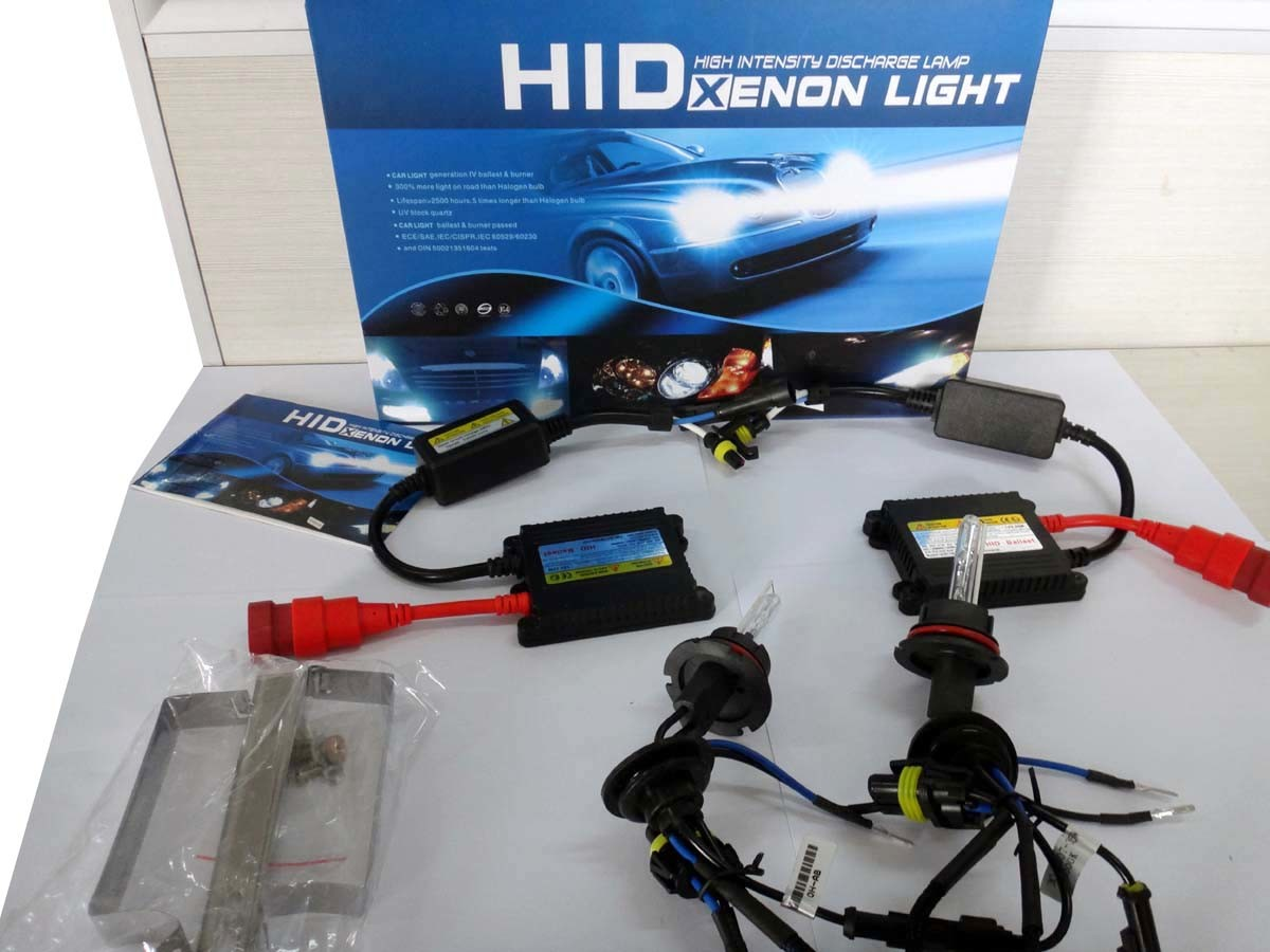AC 55W 9007 HID Light Kits with 2 Ballast and 2 Xenon Lamp