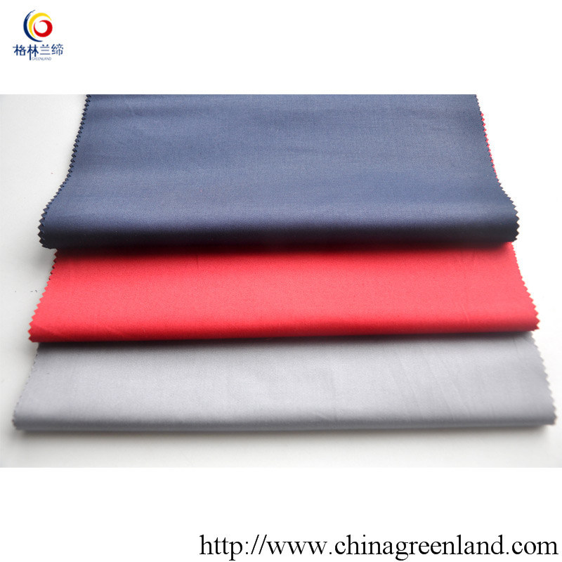 Cotton Twill Spandex Fabric with Coating Finish (GLLML042)