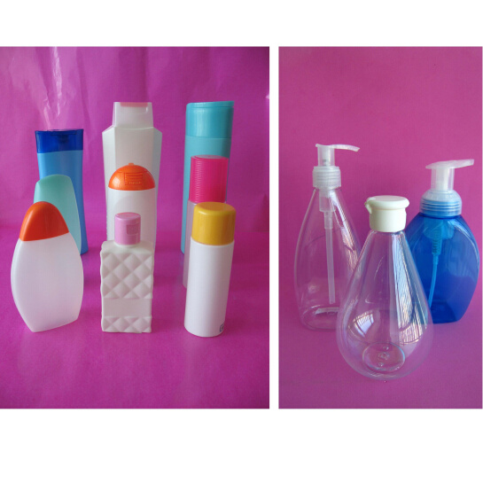 Plastic PE PP PETG Pet Cosmetic Conditioner Shampoo Bottle