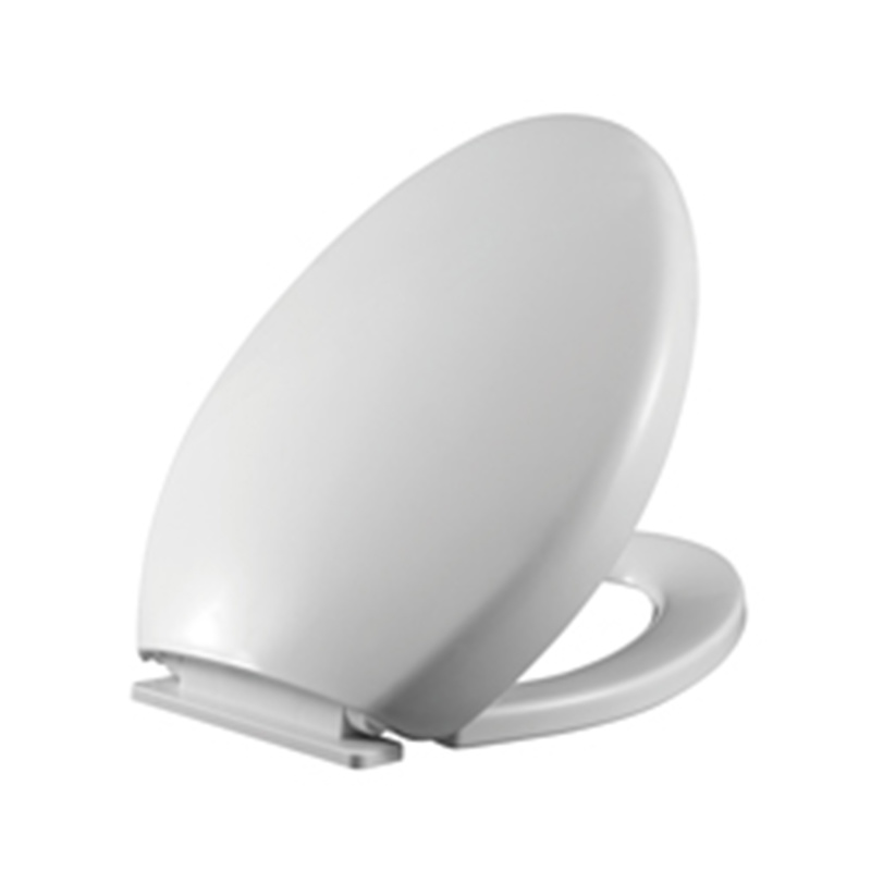 Soft Closing Toilet Seat Cover Elegant Style Solid Color Wj210