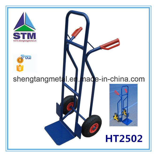 Europe Popular Factory Price Two Wheel Hand Trolley (ht1805)