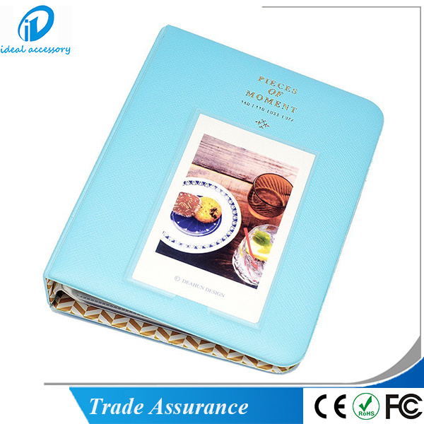 Classic Style Fujifilm Instax Film Name Card Size Photo Holder Album